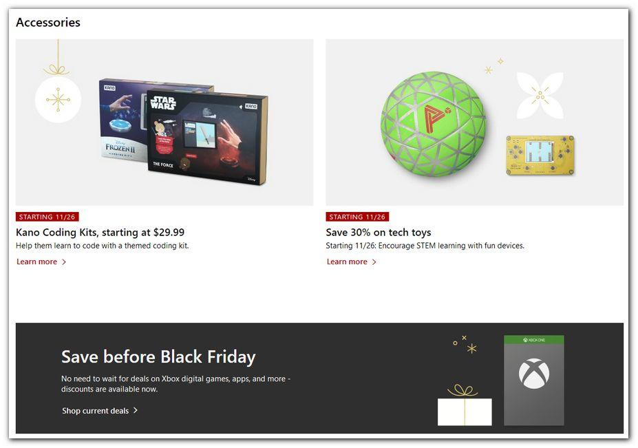 Microsoft Black Friday 2020 Ad
