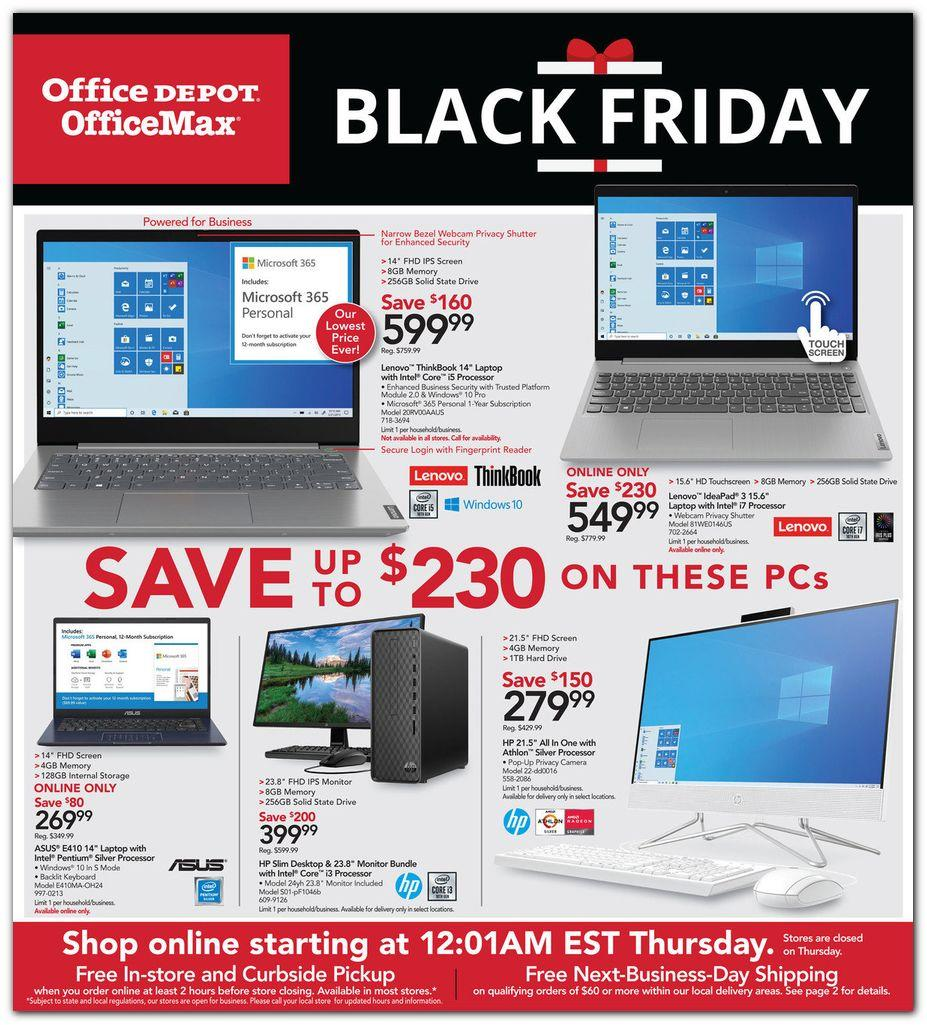 Office Depot And Officemax Coupons Promotions Specials November 2020