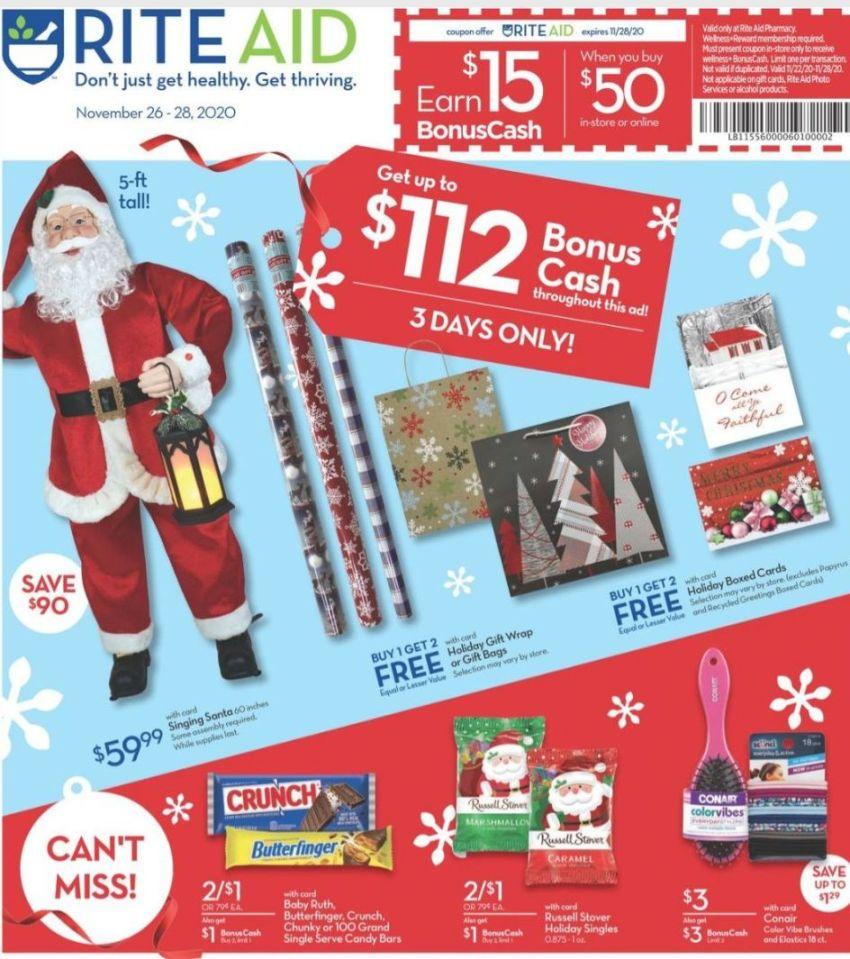 Rite Aid Black Friday 2020 Ad