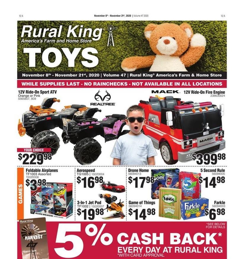 Rural King Black Friday 2020 Ad