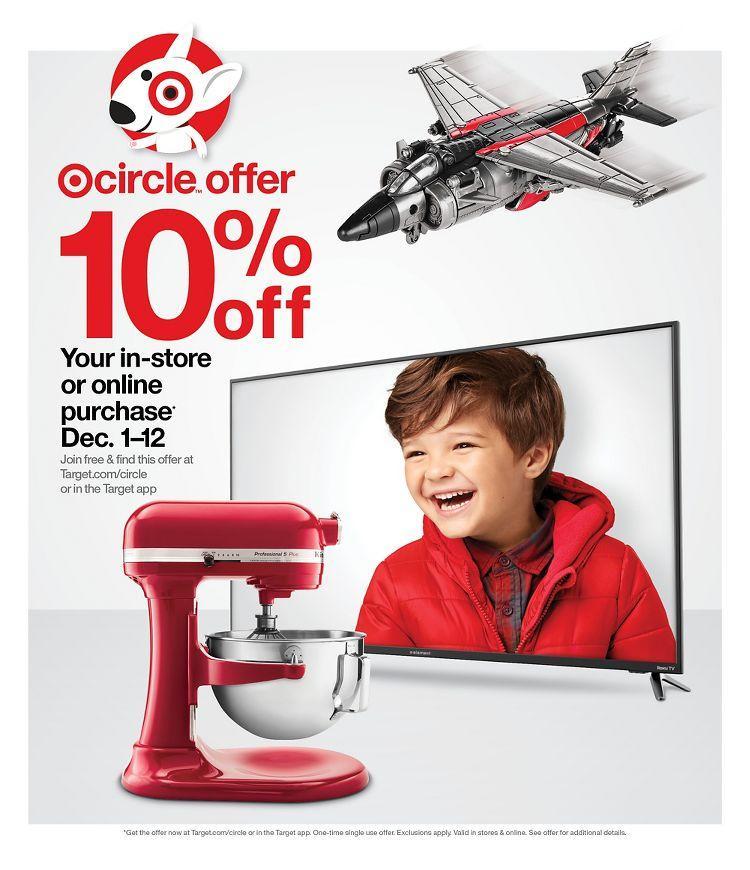 Target CyberMonday 2020 Ad