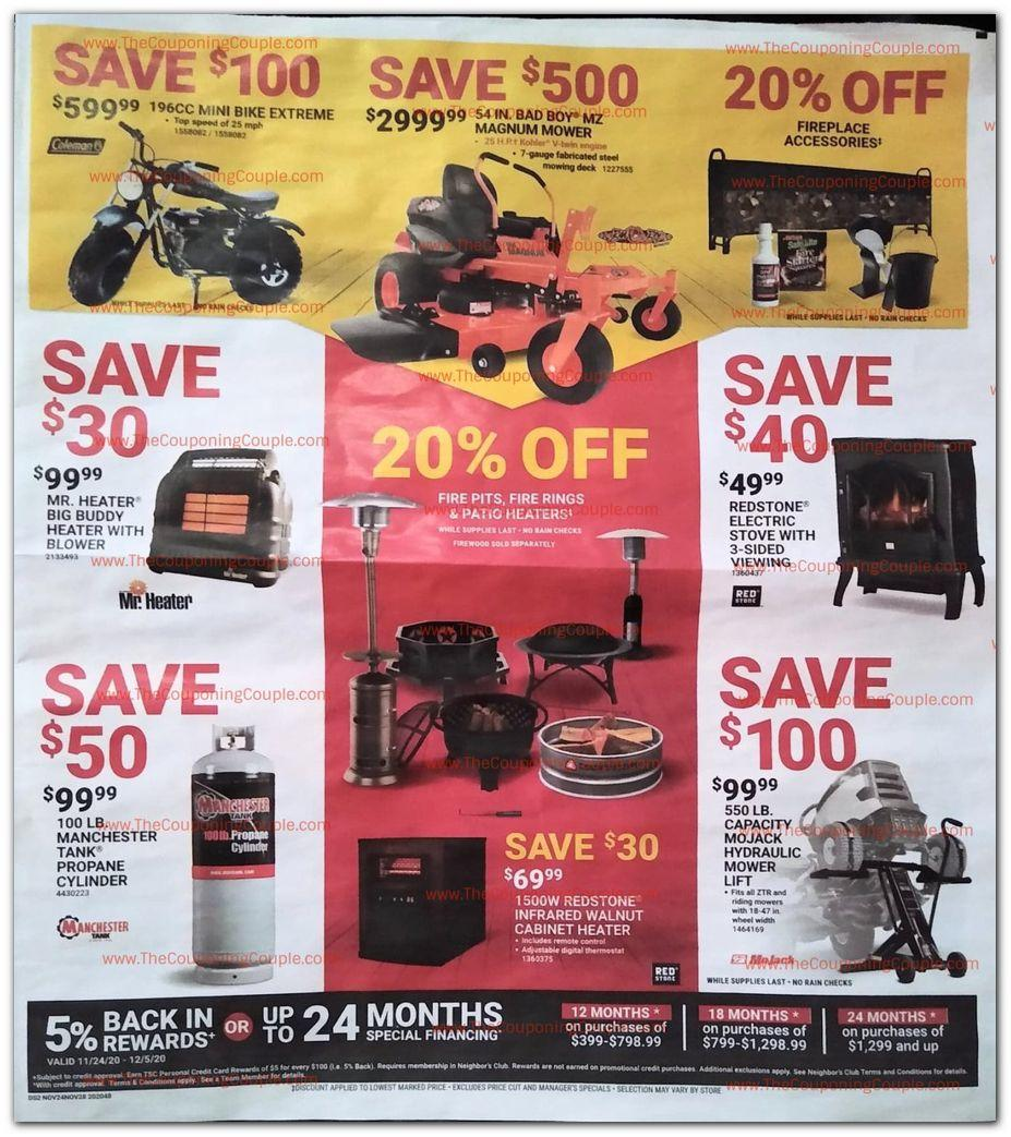 Tractor Supply Black Friday 2020 Ad