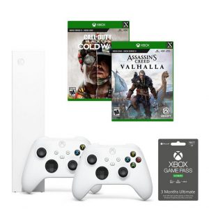 picture of Xbox Series S Assassin's Creed and Call of Duty System Bundle