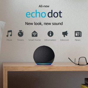 picture of All-new Echo Dot (4th Gen) Smart speaker Sale - Free Smartbulb