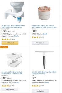 picture of Amazon $20 Off $50 Home, Bath, More