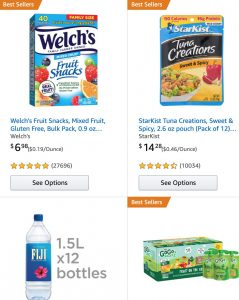 picture of Amazon $10 off $50 in Select Food