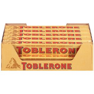 picture of Toblerone Swiss Milk Chocolate, 20-Pack, Sale