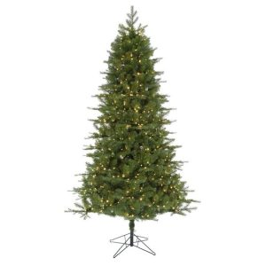picture of Holiday Living 7.5-ft Spruce Pre-Lit Artificial Christmas Tree Sale