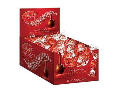 picture of Lindt Lindor Chocolate Truffles, 60ct, Sale