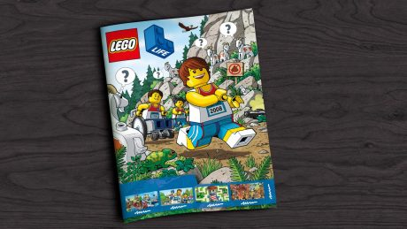 picture of LEGO Life Magazine for Kids (Quarterly Subscription) For Free