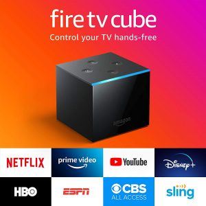 picture of Fire TV Cube 4K Ultra HD Streaming Media Player with Alexa
