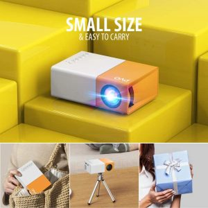picture of Expiring Today: PVO Mini Portable Projector Sale