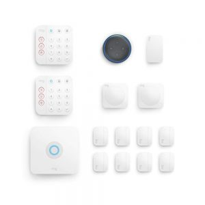 picture of Ring Alarm 14 Piece Kit + Free Echo Dot (2nd Gen), Works with Alexa Sale