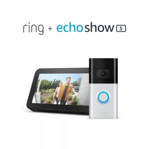 picture of Ring Video Doorbell 3 + Free Echo Show 5 Sale