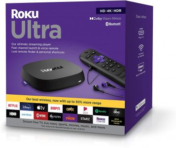 picture of Roku Media Devices Sale: Roku Ultra 4K Ultimate Streaming Media Player (2020)