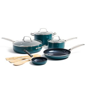 picture of Blue Diamond, Blue Limited Edition Nonstick Ceramic 11-Piece Cookware Set