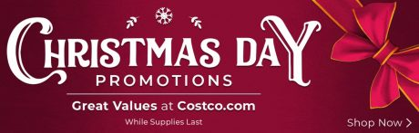 picture of Costco Christmas Day Promotions