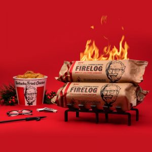 picture of KFC Limited-Edition 11 Herbs & Spices Firelog by Enviro-Log Sale