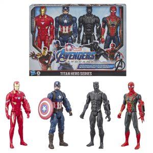 picture of Marvel Avengers: Endgame Titan Hero Series Action Figure 4 Pack Sale