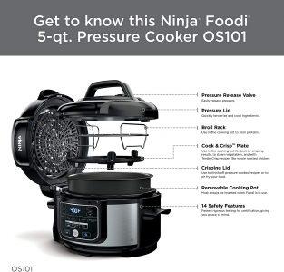 picture of Ninja Foodi 5QT Pressure Cooker & Air Fryer Sale