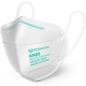 picture of Powecom KN95 Respirator Mask - FDA Authorized - 10pk Sale
