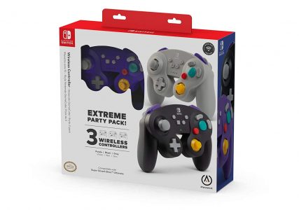 picture of PowerA Wireless Controller for Nintendo Switch, 3-Pack, Sale