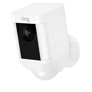 picture of Ring Security Spotlight Camera with Solar Panel and Ring Assist+Sale