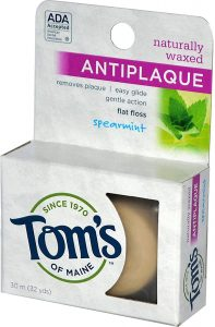 picture of Tom's of Maine Floss Flat-Anti Plaque Spearmint 32 yd Sale