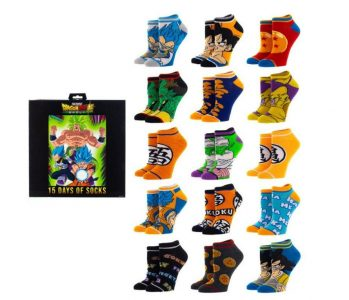 picture of Dragon Ball Z 15 Days of Socks Sale