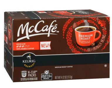 picture of McCafe Premium Roast Coffee, K-CUP PODS, 12 Count Buy 1 Get 1 Sale
