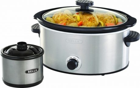 picture of Bella - 5-qt. Slow Cooker with Dipper Sale