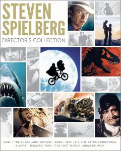 picture of Steven Spielberg Director's Collection, 8-Disc Blue-ray, Sale