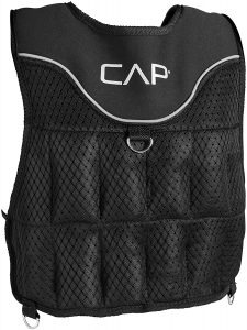picture of CAP Barbell Adjustable Weighted Vest, 20-Pound, Sale