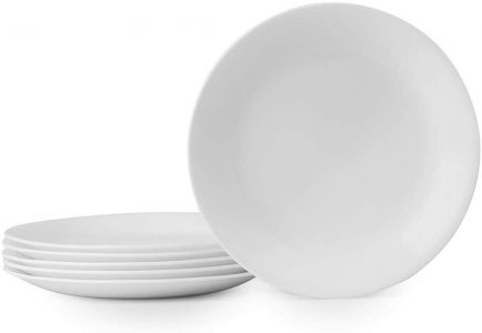 picture of Expiring Today: Corelle 6-Piece Winter Frost White Lunch Plates Set Sale