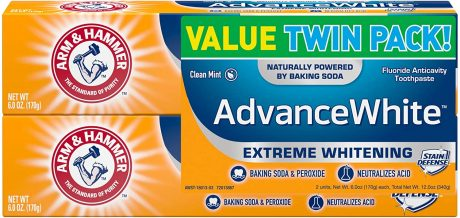 picture of Arm & Hammer Twin Pack (Contains Two 6oz Tubes) Sale