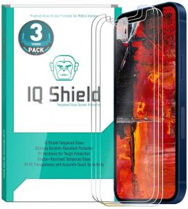 picture of iPhone 12 Mini Glass Screen Protector 3 Pack Sale