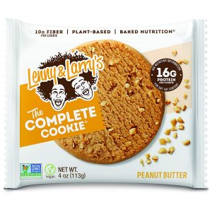 picture of Lenny & Larry's The Complete Cookie, Peanut Butter, 4-Ounce Cookies (12pk)