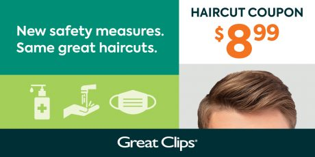 picture of Great Clips Haircut Coupon for $8.99