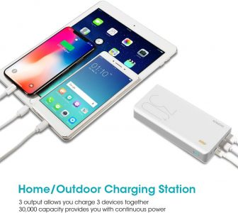 picture of ROMOSS 30000mAh Power Bank with USB, USB C Sale