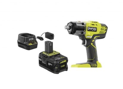 picture of Ryobi ONE+ 18-Volt Cordless 3-Speed 1/2