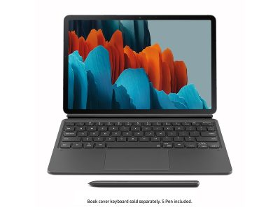 picture of Samsung Galaxy Tab S7 Keyboard Bookcover Case Sale