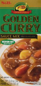 picture of S&B, Golden Curry Sauce Mix, Medium Hot, 3.2 oz Sale