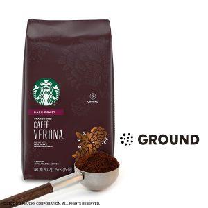 picture of Starbucks Dark Roast Ground Coffee — Caffè Verona 28oz Bag Sale
