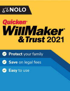 picture of Nolo's Quicken WillMaker & Trust 2021 (Digital Download) for Free