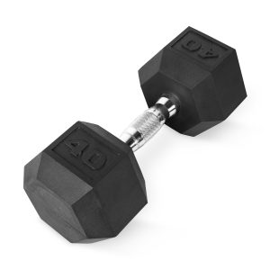 picture of CAP Barbell Coated Hex Dumbbell, Single 40 lbs, Sale