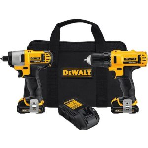 picture of DEWALT 2-Tool 12V Max Cordless Drill/Driver + Impact Driver Sale