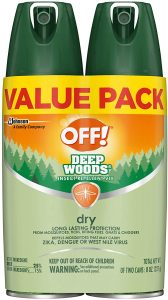 picture of OFF! Deep Woods Insect & Mosquito Repellent, 2ct 4oz., Sale