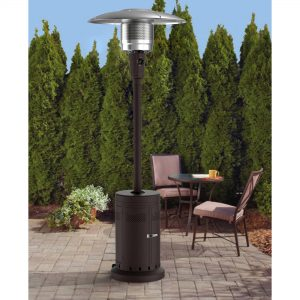 picture of Mainstays Large Outdoor Patio Heater (Powder Coat Brown) Sale