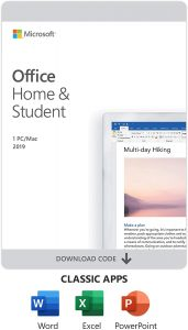 picture of 1 Day Only: Microsoft Office Home and Student 2019 plus free AVG Internet Security 2021
