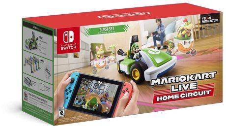 picture of Mario Kart Live: Home Circuit for Nintendo Switch (Luigi Set) Sale